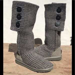 Ugg classic Cardy boot in grey